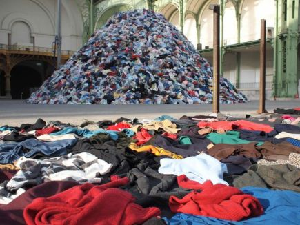 clothing waste