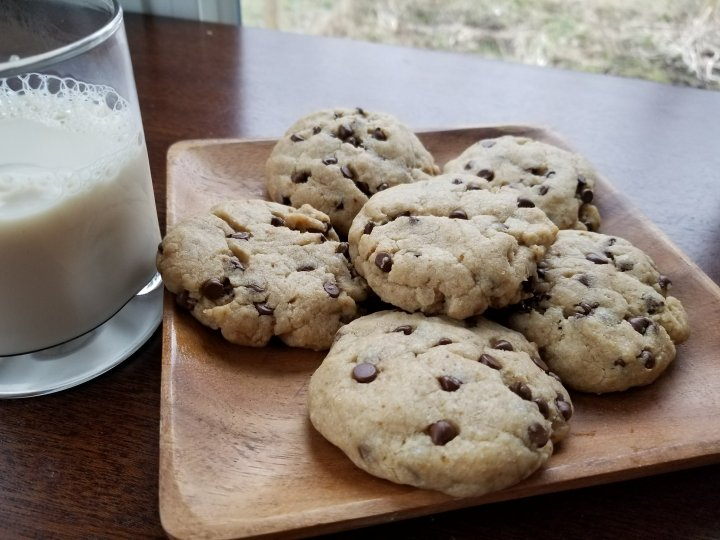 Soft Vegan Chocolate ChipCookies