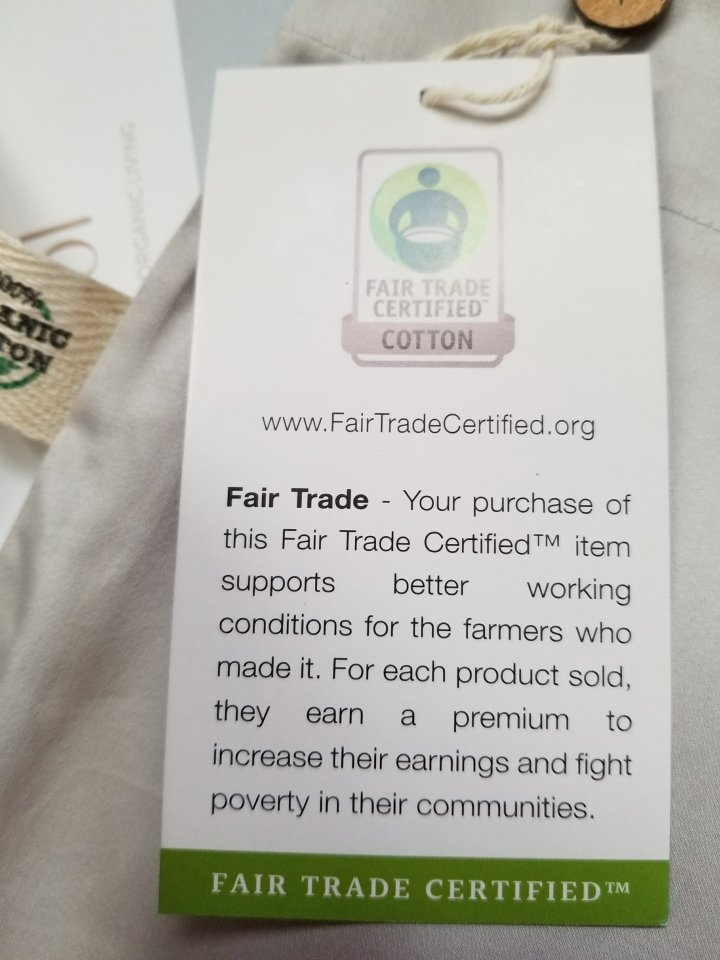 Fair Trade Certified Cotton And Sewing: What is it? Why should we supportit?