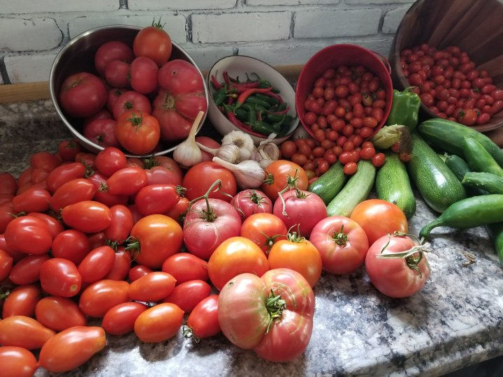 What To Do With All That Extra Produce?